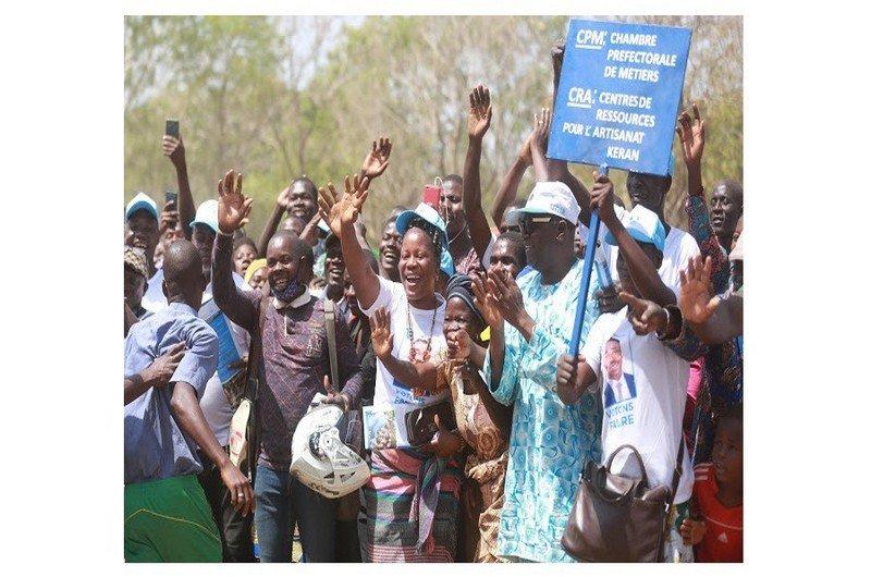 La Kéran adhère à la politique de Faure Gnassingbé